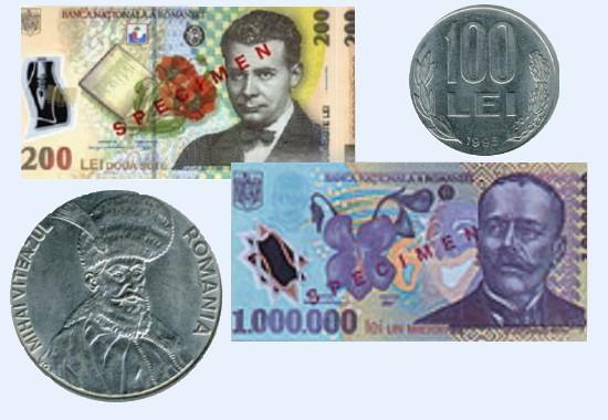 Курс румынской валюты